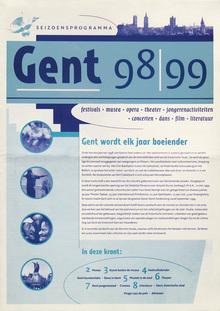 Season's Listing, Ghent 1998–99