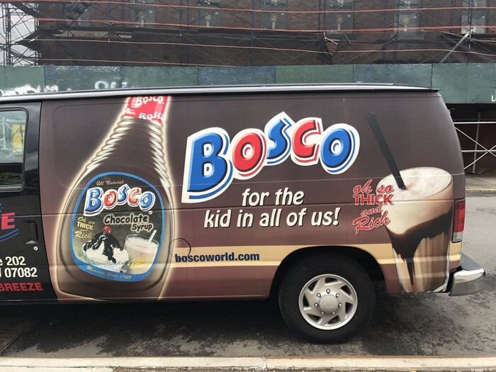 Bosco Chocolate Syrup 1
