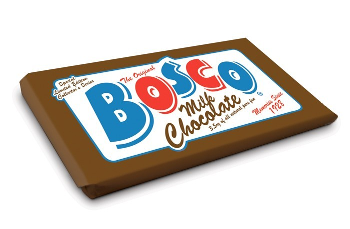 "Bosco Milk Chocolate — ""Special Limited Edition Collector's Series"""