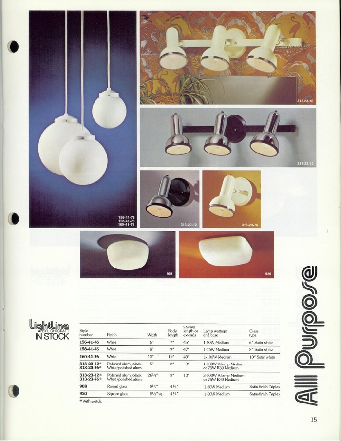 Lightcraft: Lightline Catalog 79 3