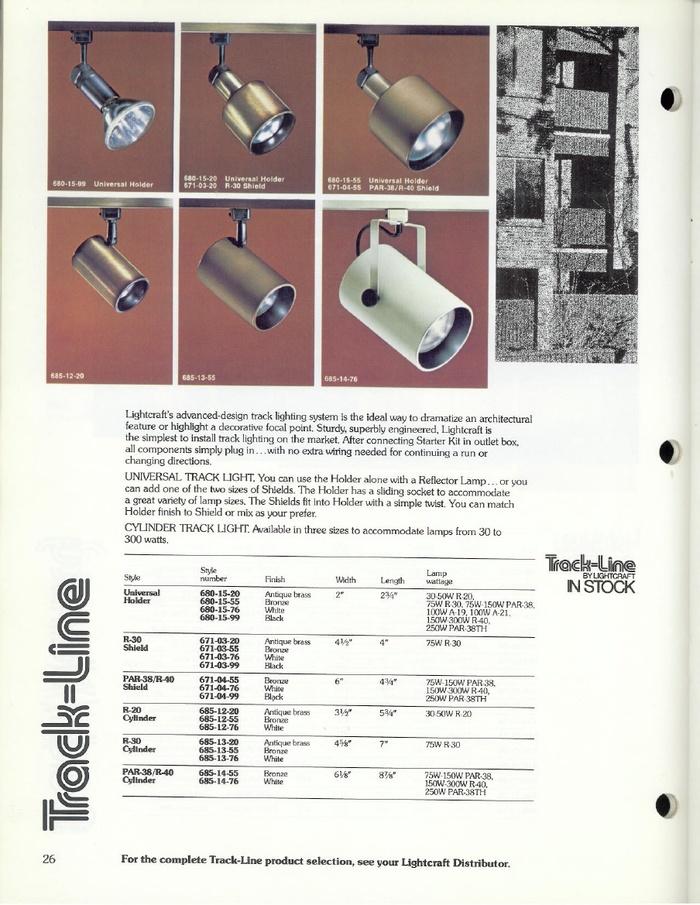 Lightcraft: Lightline Catalog 79 5