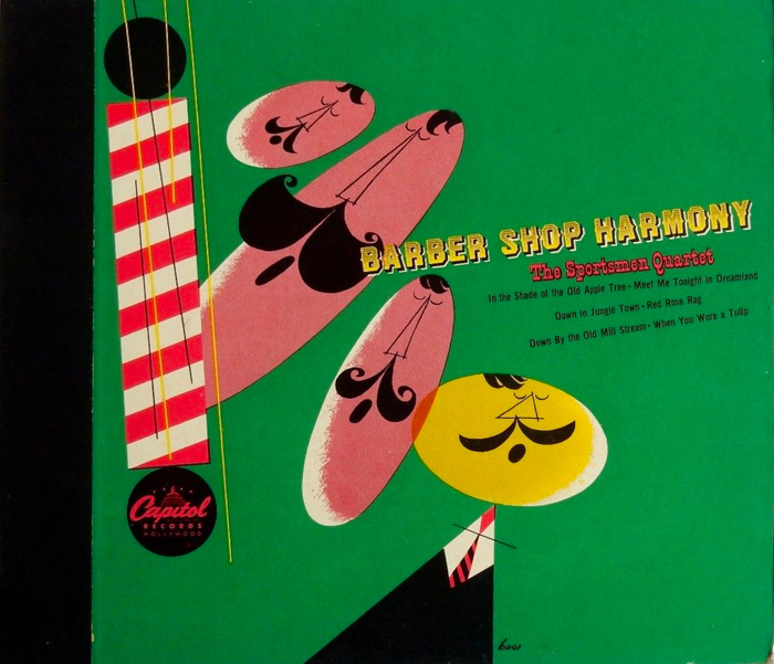 The Sportsmen – Barber Shop Harmony album art 1