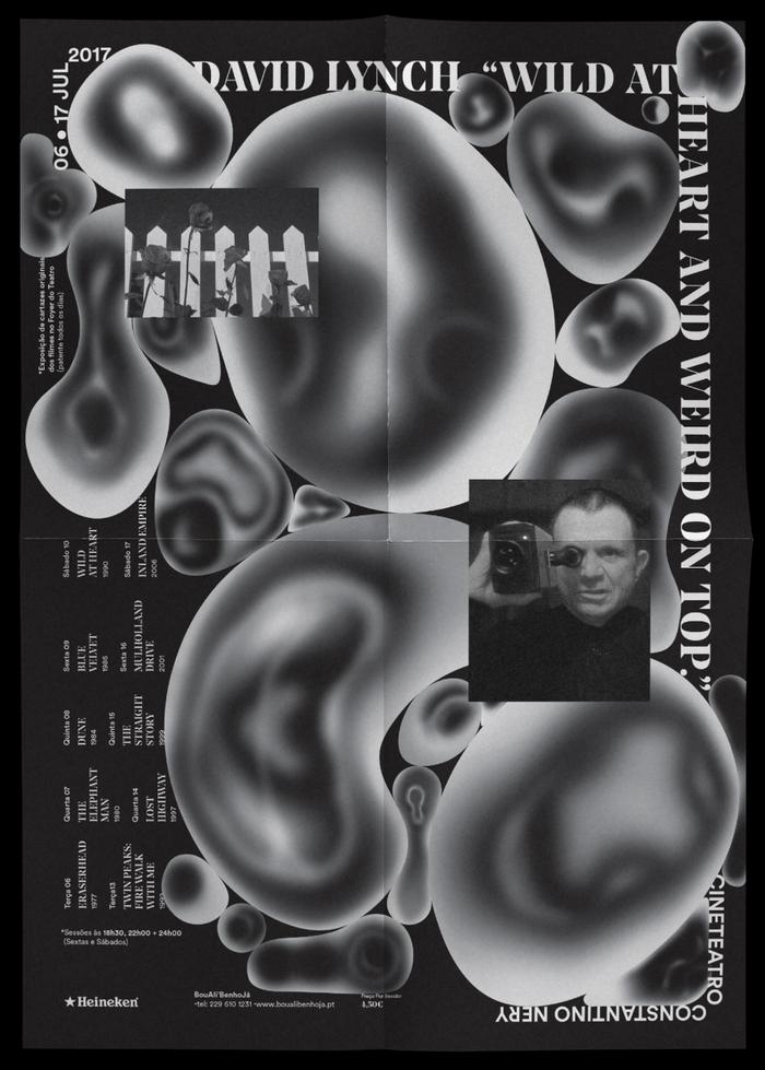 """David Lynch – The Filmmaker"" poster"