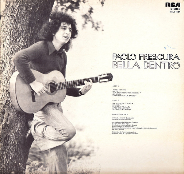 Paolo Frescura – Bella Dentro album art 2