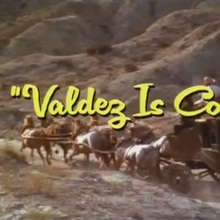 <cite>Valdez Is Coming</cite> (1971) opening titles