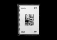 <cite>Login</cite>, Issue 001