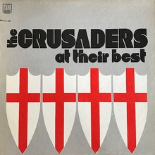 The Crusaders – <cite>At Their Best </cite>album art