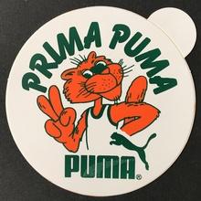 """Prima Puma"" sticker"