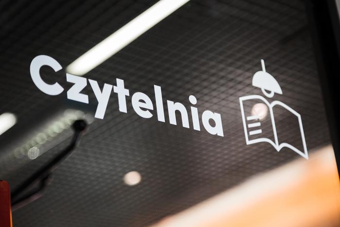 Mediateka Tychy wayfinding system 3