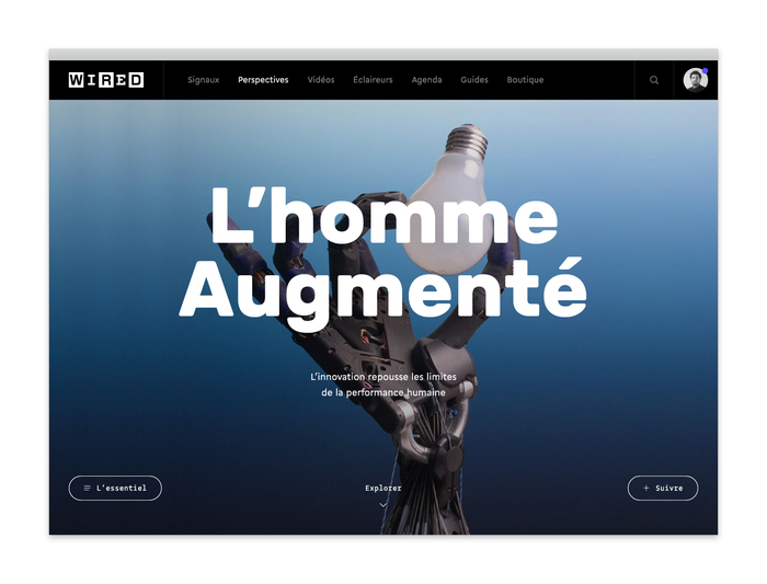 Wired France website 4