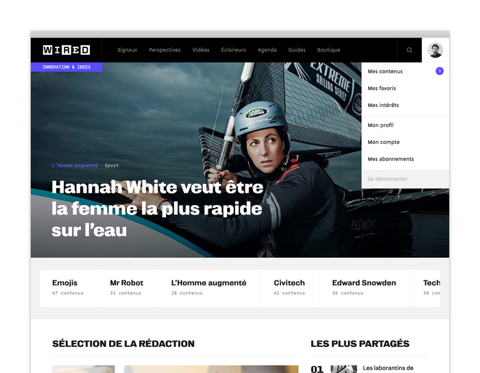 Wired France website 1