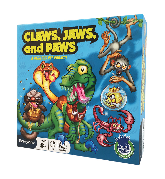 Claws, Jaws, and Paws board game
