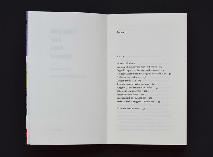 Trage post voor Anna Johanna by Joke Linders 4