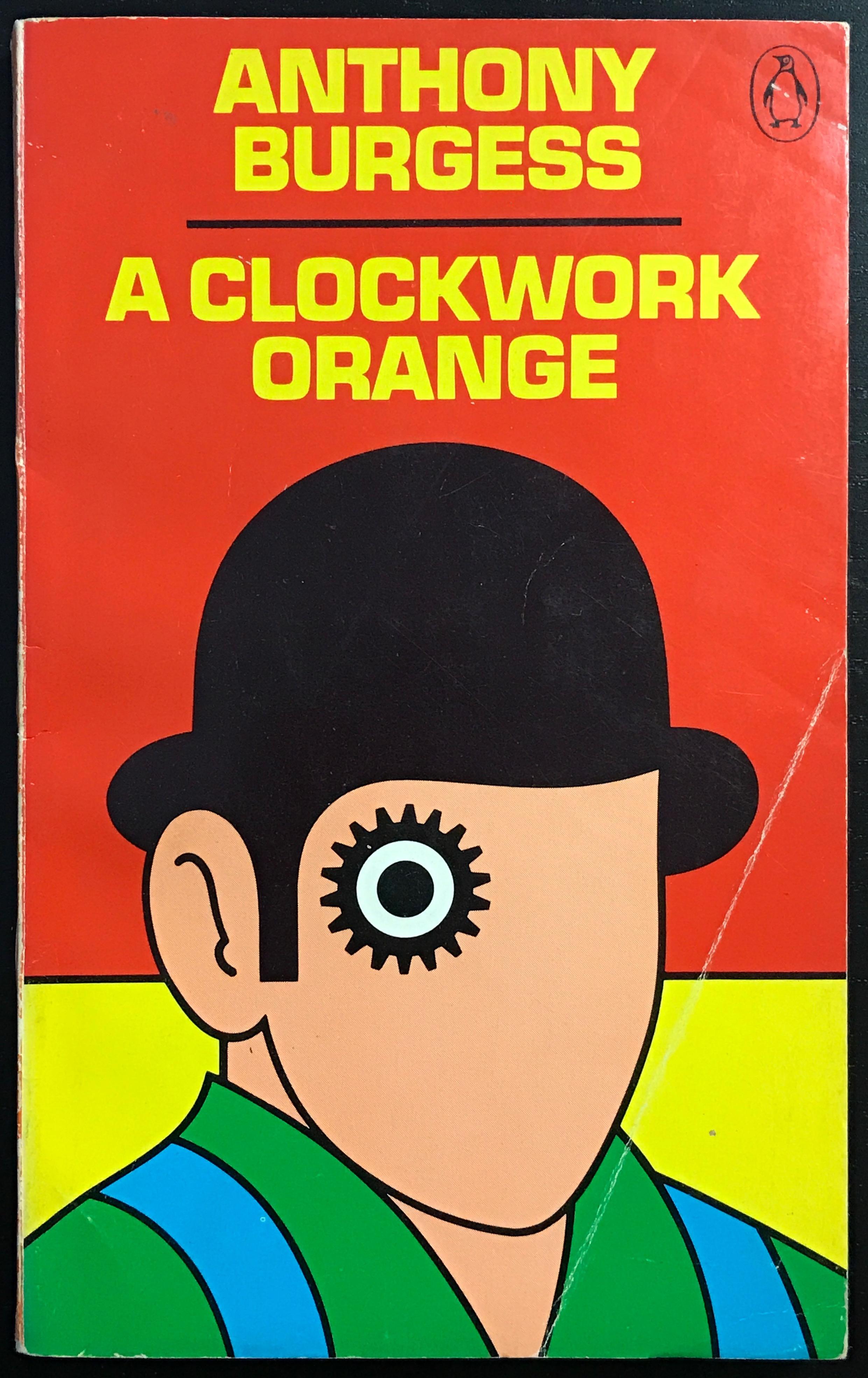 A Clockwork Orange – Anthony Burgess (Penguin SF) - Fonts In Use