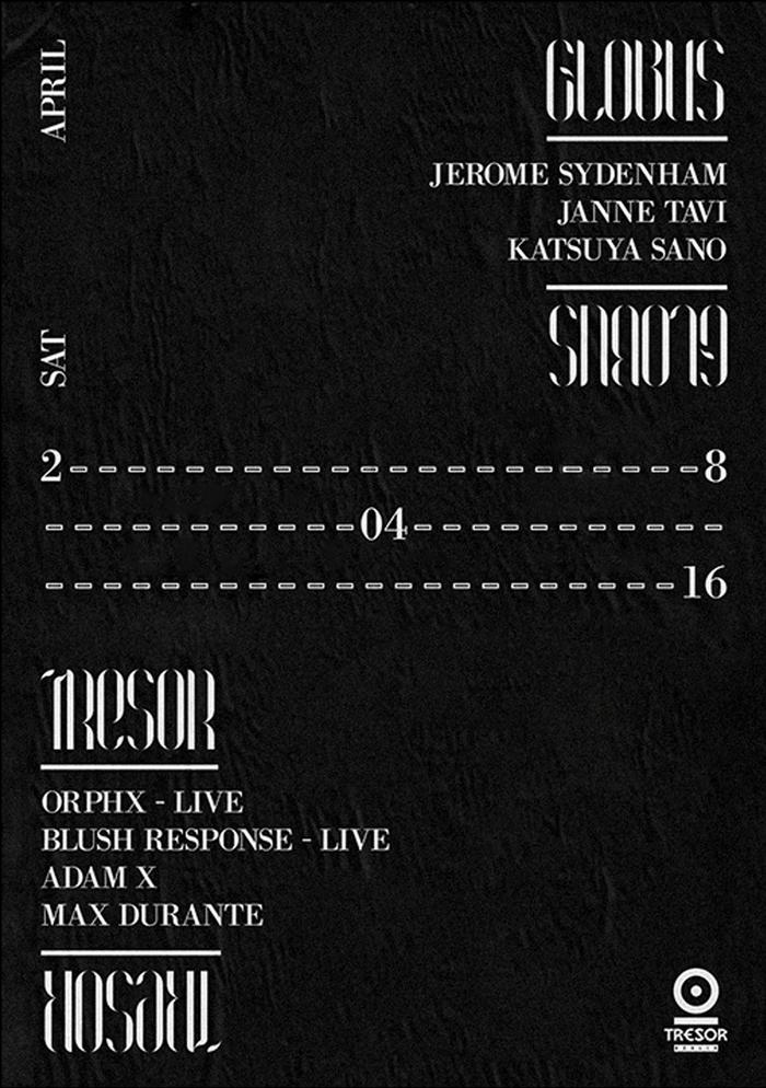 Tresor 28/04/16