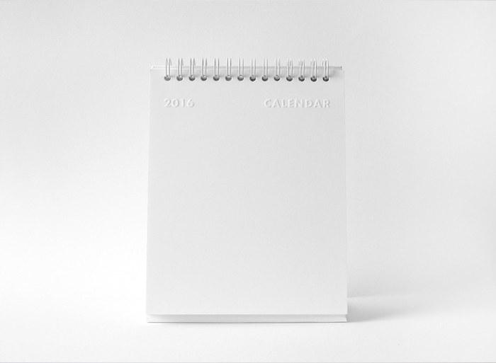 whitestore(WH) desk calendar 1