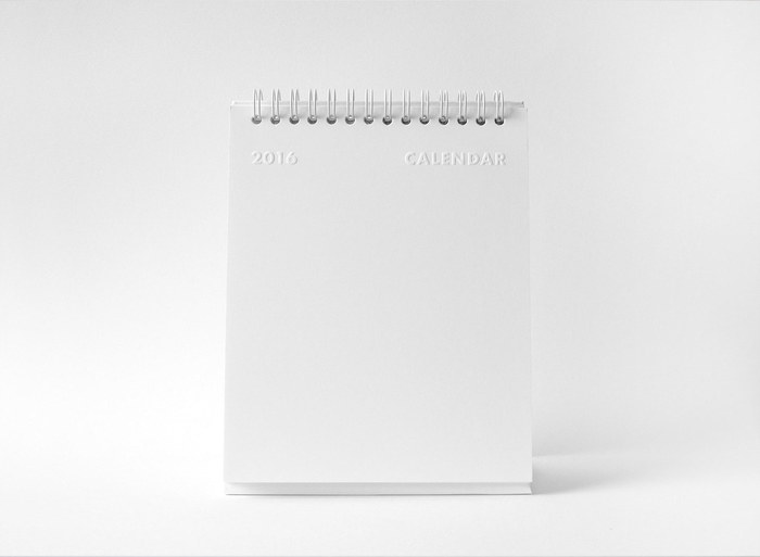 whitestore(WH) desk calendar 1