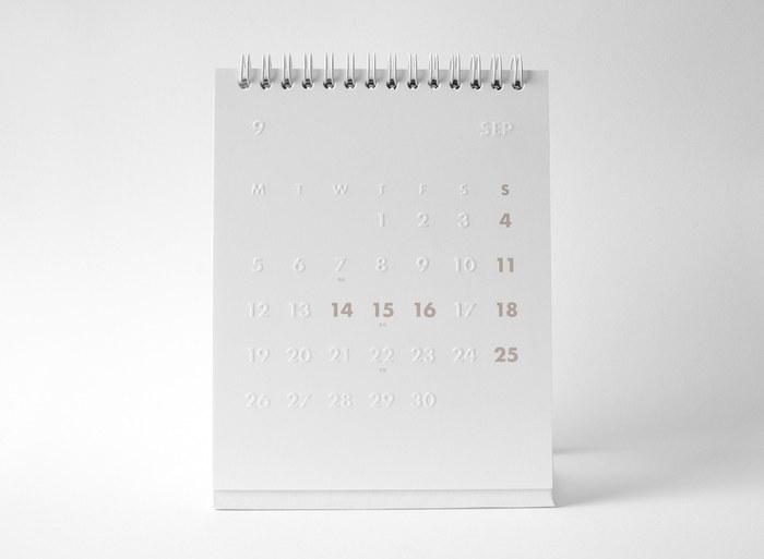 whitestore(WH) desk calendar 2