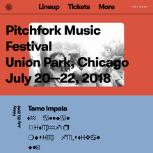 Pitchfork Music Festival 2018