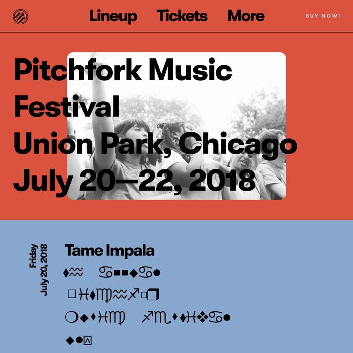 Pitchfork Music Festival 2018 1
