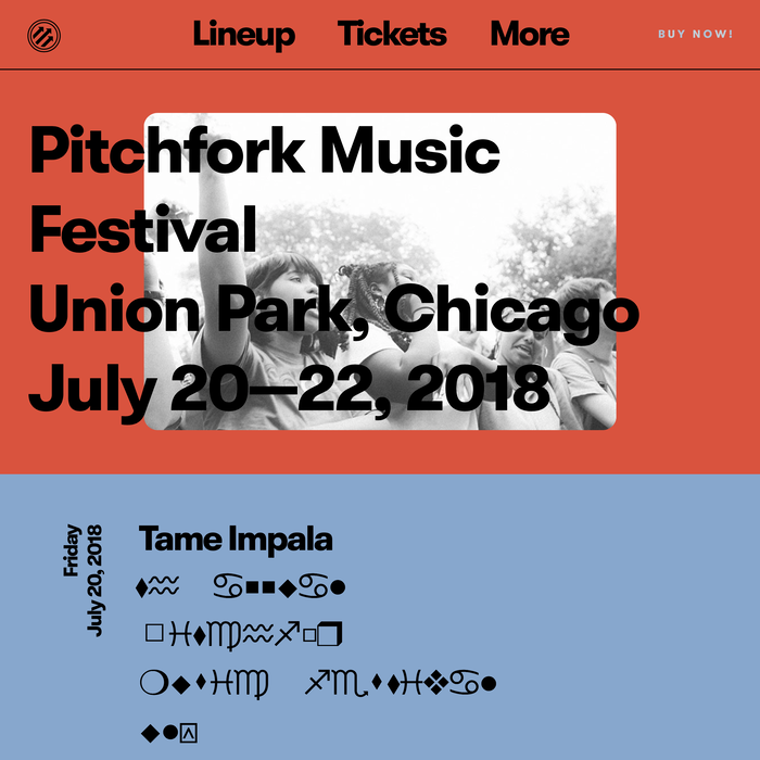 Pitchfork Music Festival 2018 1