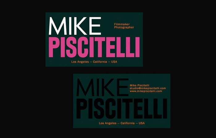 Mike Piscitelli identity (fictional)