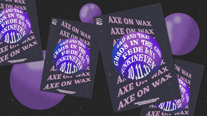 Axe on Wax posters 4