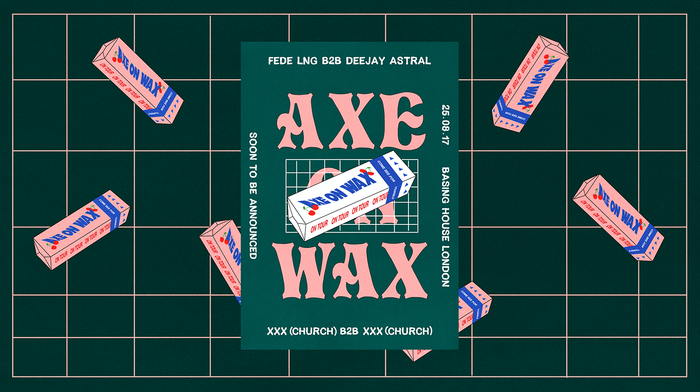 Axe on Wax posters 1