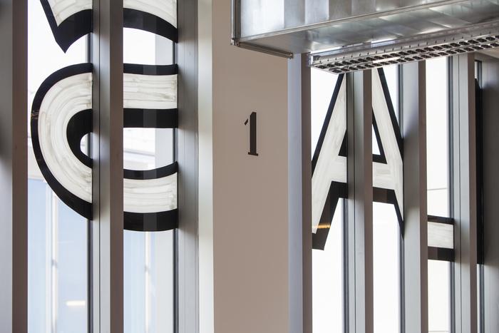 Magasins Généraux window signs 10