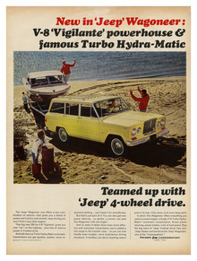 """New in 'Jeep' Wagoneer"" ad"