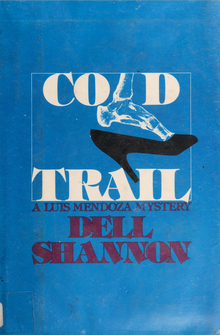 <cite>Cold Trail</cite> by Dell Shannon