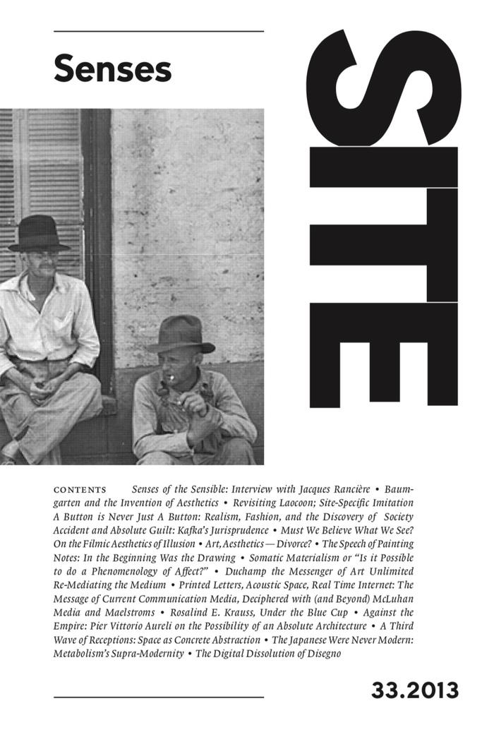 SITE magazine (2007–) 1