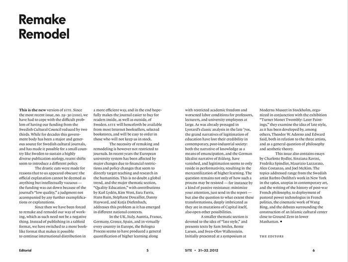 SITE magazine (2007–) 3