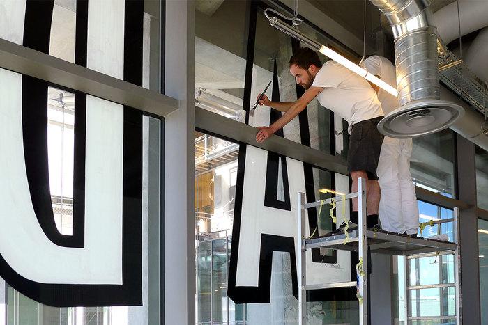 Magasins Généraux window signs 8