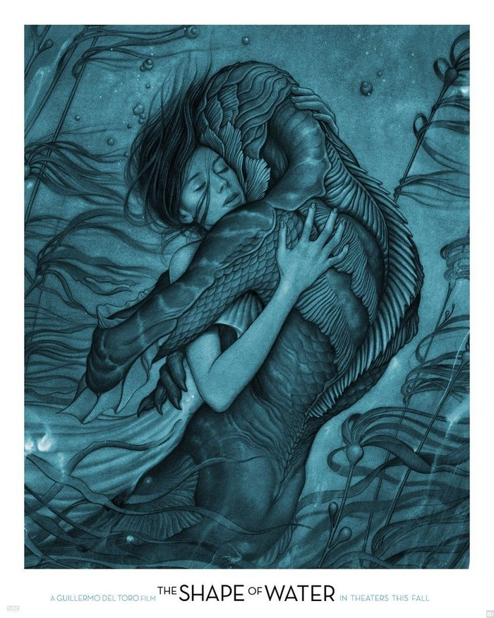 The Shape of Water posters 1