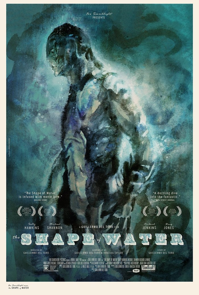 The Shape of Water unofficial posters 1