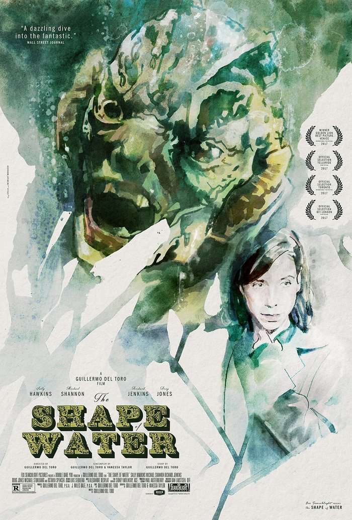 The Shape of Water unofficial posters 2
