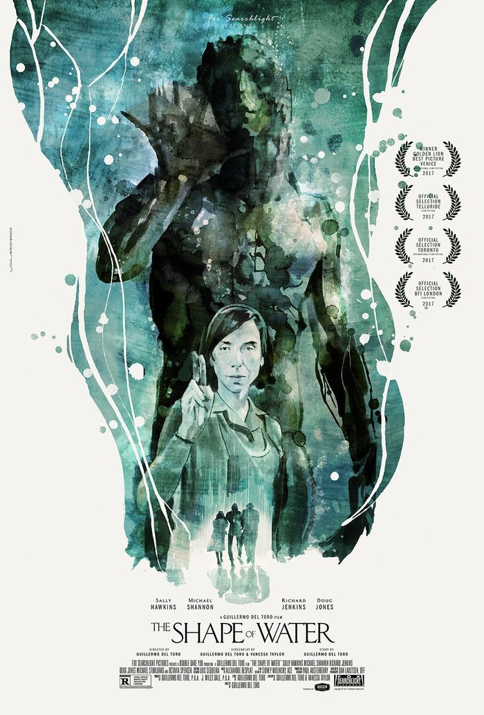 The Shape of Water unofficial posters 3