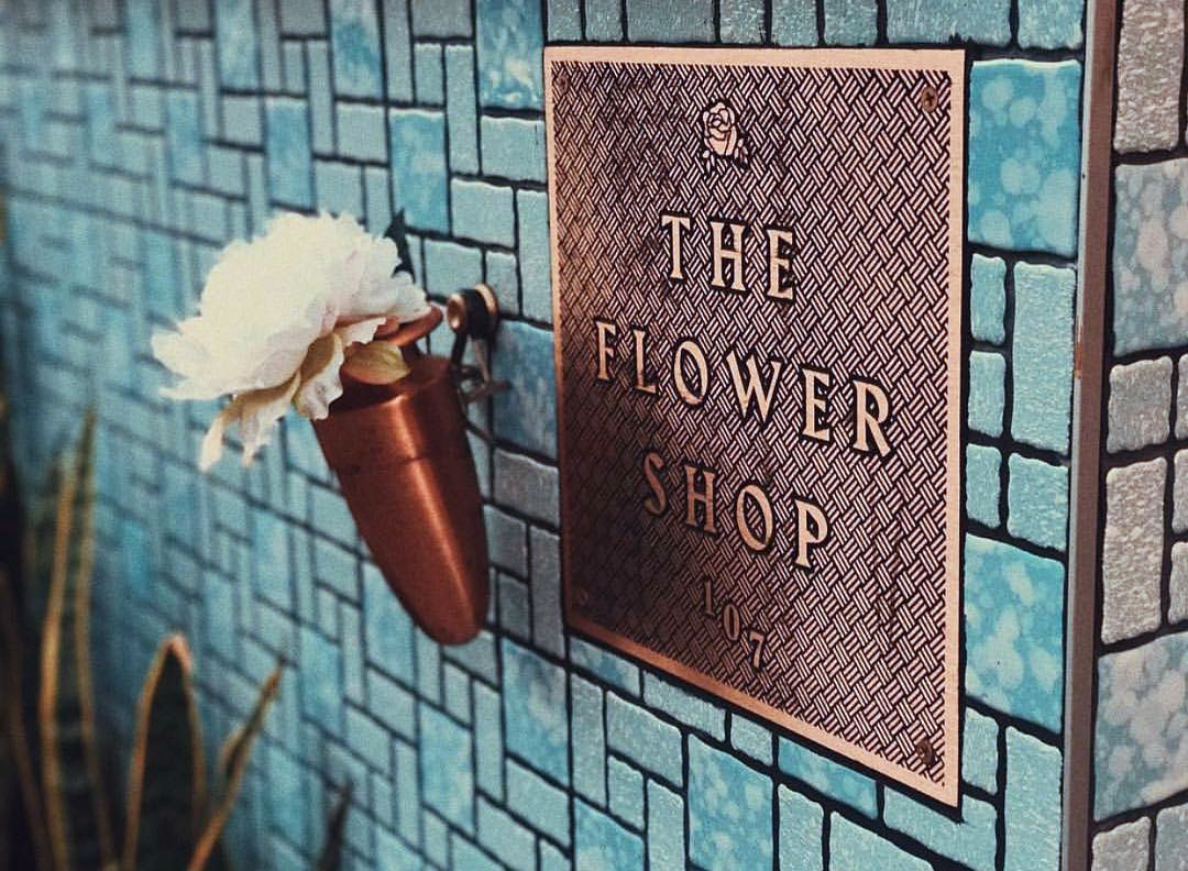 The Flower Shop Fonts In Use