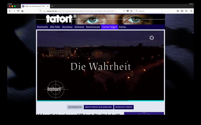 """Tatort – """"Die Wahrheit"""" 1"""