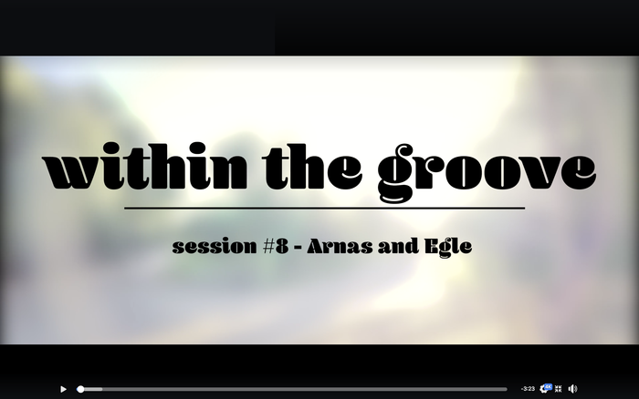 """""""Within the groove"""" video series 1"""