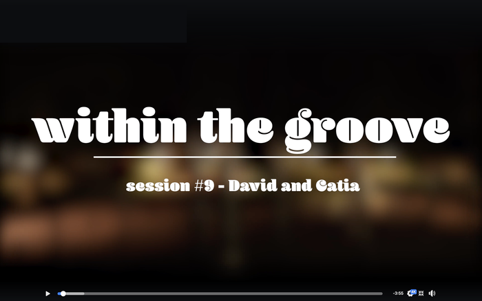 """""""Within the groove"""" video series 3"""