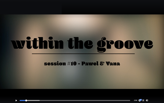 """""""Within the groove"""" video series 4"""
