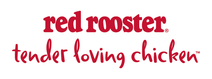 """Logo with tagline """"tender loving chicken"""" in Nick Shinn's Duffy Script, introduced by Brand Council in 2014."""