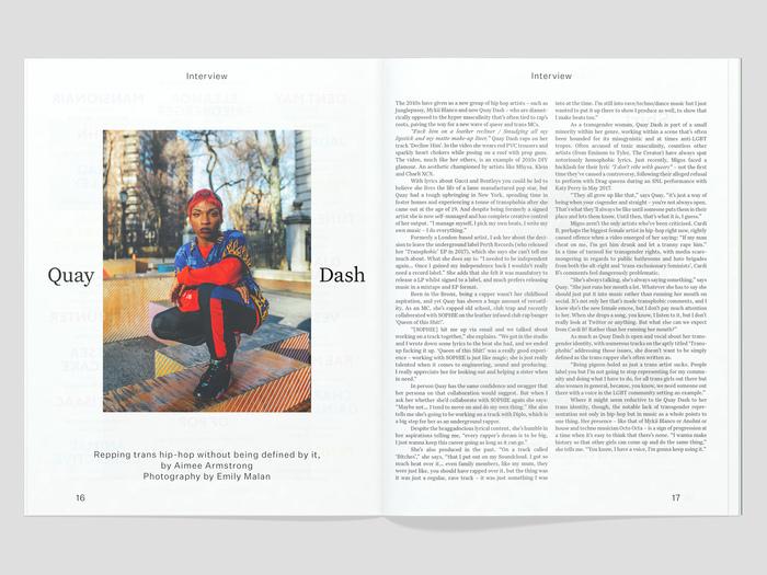Loud and Quiet magazine 3