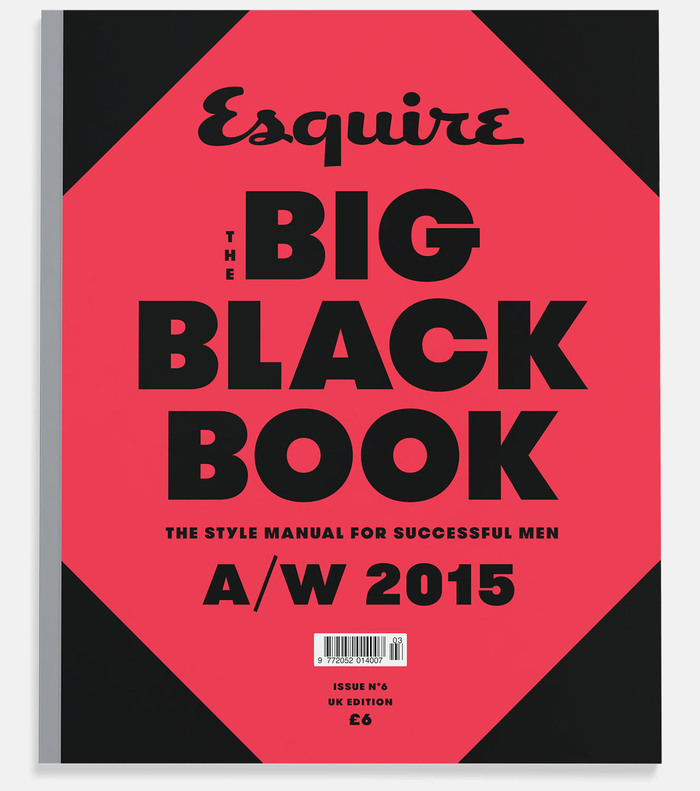 Esquire's Big Black Book - Fonts In Use