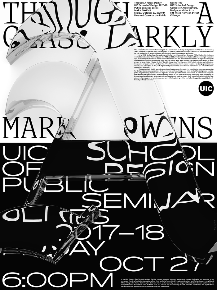 A – Mark Owens, October 27, 2017, featuring Knif mono (A is for …) and Pano (Heavyweight).