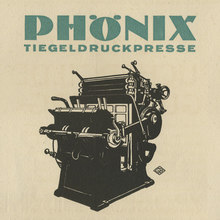 """Phönix Tiegeldruckpresse"" ad by J.<span class=""nbsp"">&nbsp;</span>G.<span class=""nbsp"">&nbsp;</span>Schelter &amp; Giesecke, 1924"