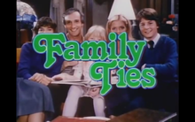 <cite>Family Ties</cite> opening titles
