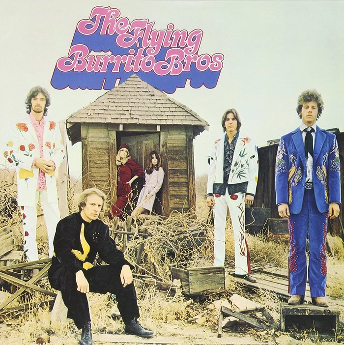 The Flying Burrito Bros – The Gilded Palace of Sin album art
